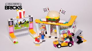 Lego Friends 41349 Drifting Diner Speed Build