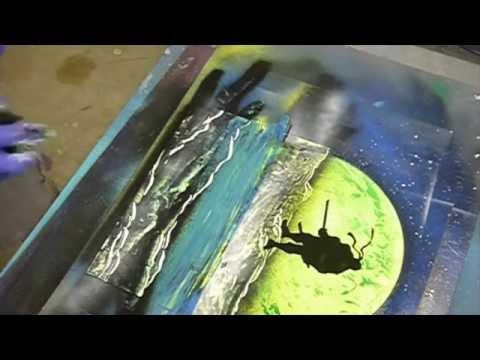 TMNT Spray Paint Art Teenage Mutant Ninja Turtles