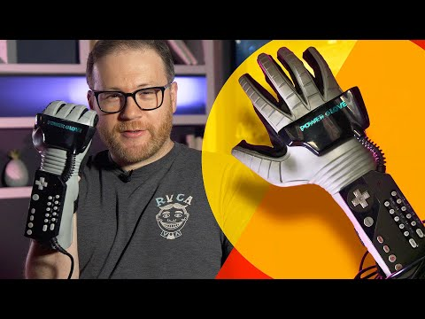Getting a Nintendo Power Glove to work in 2020... sorta