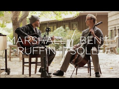 Marshall Ruffin and Ben Sollee perform an impromptu duet at Deep End Ranch