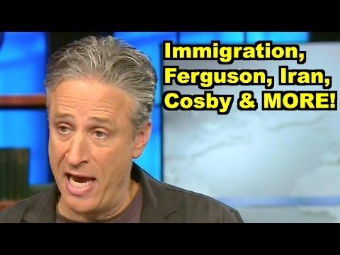 Immigration, Race, Iran, Cosby -Jon Stewart, John Cleese MORE! LiberalViewer Sunday Clip Round-Up 83