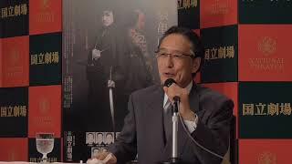 平成29年10月歌舞伎公演『霊験亀山鉾』の取材会が行われ、出演する片岡...