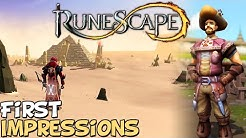 "RuneScape 3 First Impressions ""Is It Worth Playing?"""