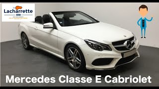 ❌Arrivage Mercedes Classe E Cabriolet 350 BlueTEC Fascination VO24065 ❌