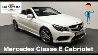 ❌Arrivage Mercedes Classe E Cabriolet 350 BlueTEC Fascination VO24065 ❌