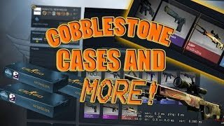 CS GO - E188 Cobblestone 2015 Case Opening Hope For Dragon Lore!