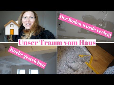 TRAUM VOM HAUS #24 | Haustour | Baustellenupdate | Fußboden wurde verlegt | Silja