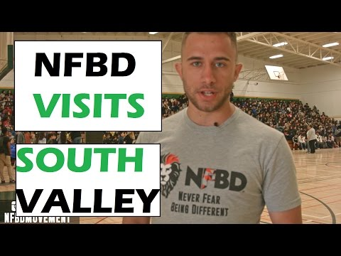 South Valley Middle School (Gilroy, California) -NFBD School Speaker