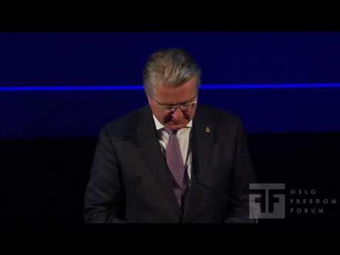 Fabian Stang - Oslo Freedom Forum 2009