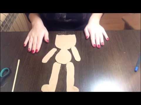 Мастер класс по созданию текстильной куклы Часть1
