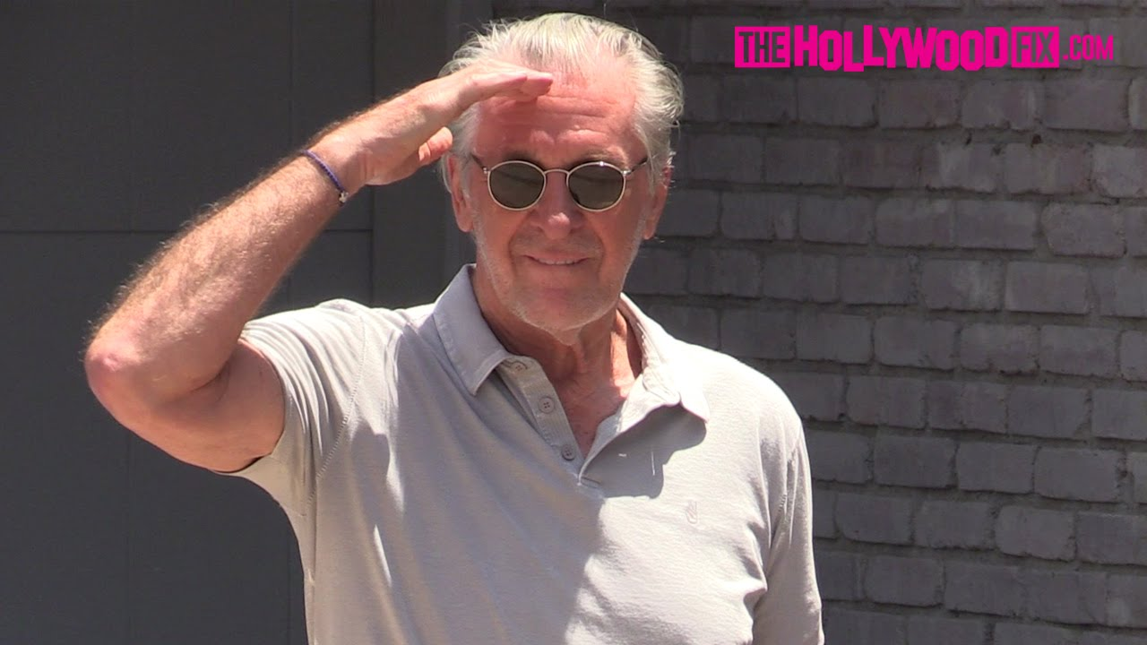 57a02ff5d082d Pat Riley Arrives To Joel Silver s Memorial Day Beach Party In Malibu  5.30.16