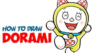 Drawing: How to Draw Dorami From Doraemon Step by Step