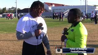 Football Gameplan's 2018 Shrine Game Interview: Ja'Von Rolland Jones, Arkansas State