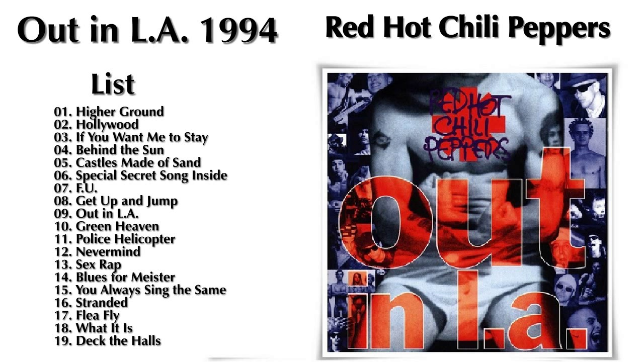 red hot chili peppers discography