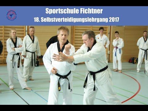 Selbstverteidigungslehrgang 2017 - Sportschule Fichtner