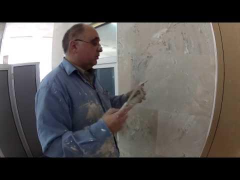 Штукатурка стен своими руками (видео обучение)