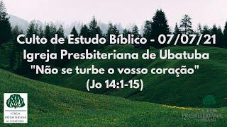 Estudo Bíblico 07/07