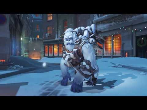 Overwatch christmas animated wallpaper winston 1440 - Overwatch christmas wallpaper ...