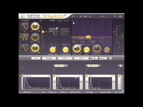 Sound design with FabFilter Twin 2 - Part two