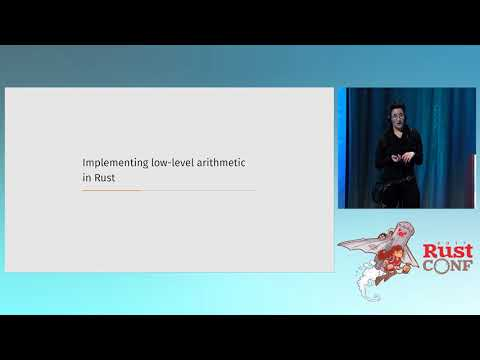 RustConf 2017 - Fast, Safe, Pure-Rust Elliptic Curve Cryptography
