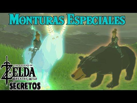 8fe0c74105 Secretos y Trucos de Zelda Breath of the Wild #15 | Monturas especiales