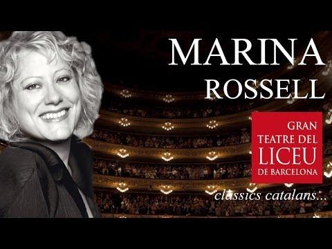 Marina Rossell - Gran Teatre del Liceu de Barcelona (Clàssics Catalans) SUBT[EN][FR][ES]
