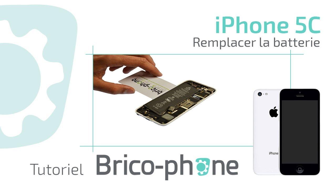 Tutoriel iPhone 5c : changer la batterie démontage + remontage HD