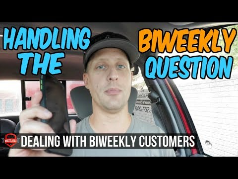 Handling Customers Who Want BiWeekly Lawn Care Service - What Do I Say?