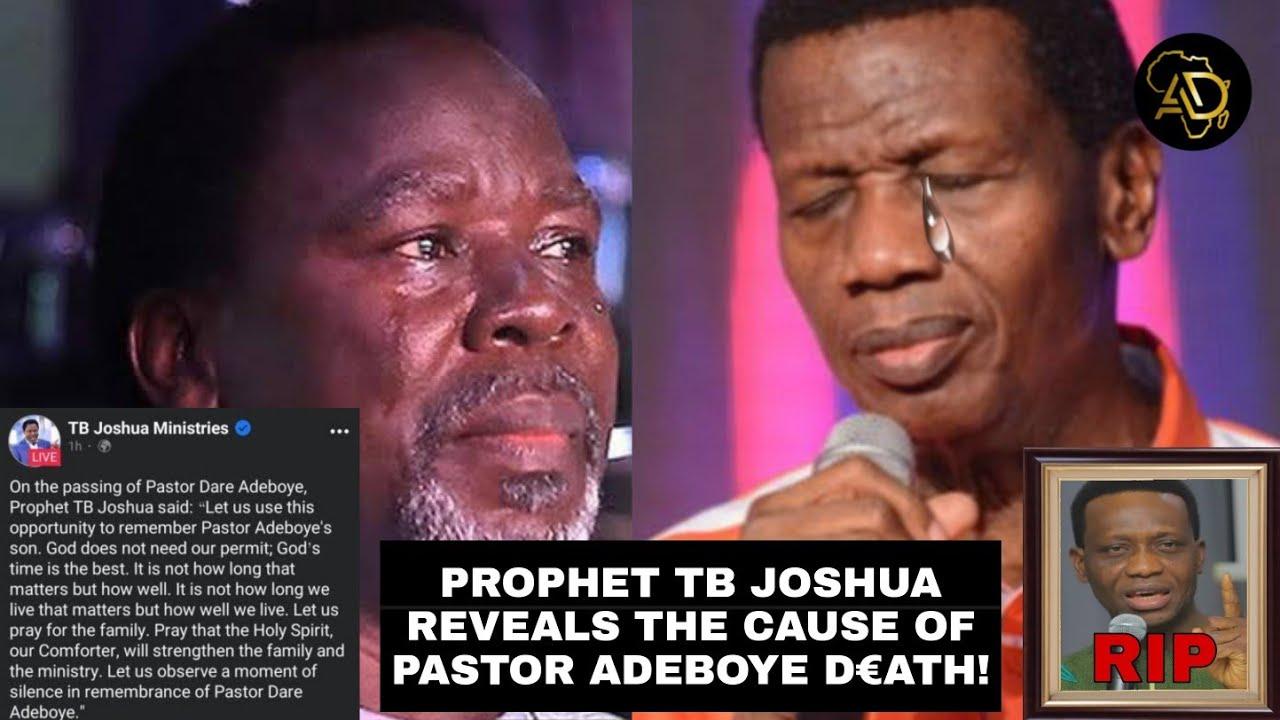 Download Prophet TB Joshua In Tears! Reveals Why Pastor Dare Adeboye Di€d Suddenly!