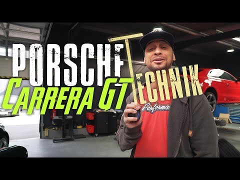 JP Performance - Porsche Carrera GT   Die Technik!