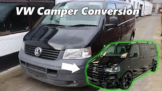 Camper Van conversion Full Tour Off-Grid