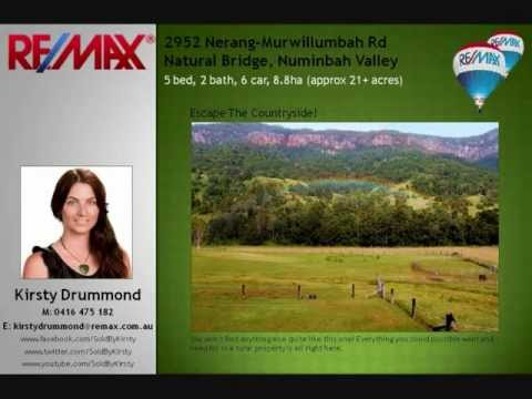 2952 Nerang-Murwillumbah Rd, Natural Bridge - Kirsty Drummond - Gold Coast Real Estate Agent