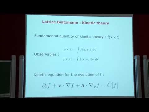PISACMS 2015 - Benjamin Rotenberg - Lattice-Boltzmann methods