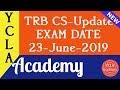 TRB Computer Instructor Exam Date Announced |  TRB CS | YCLA Academy