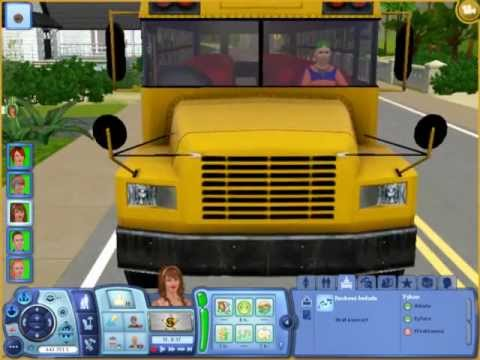 how to travel sims 3