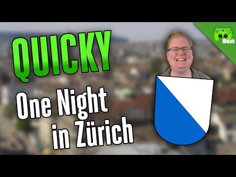 ONE NIGHT IN ZÜRICH 🎮 Quicky #142 | Best of PietSmiet