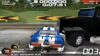 Juego de Autos 17: Auto Armado enfrenta a Trailer Blindado y Armado
