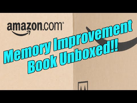 Memory Improvement Book Unboxing Memory And Intellectual Improvement