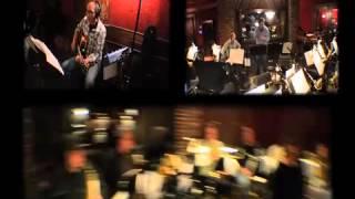 David Tobin & Jeff Meegan recording a Big Band for Audio Network