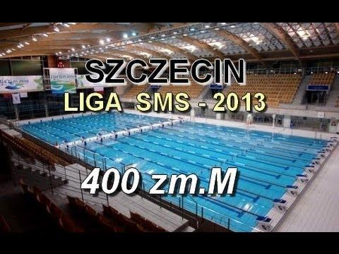 Liga SMS w Pływaniu - Szczecin 2013 - 400zm s1 mężczyzn