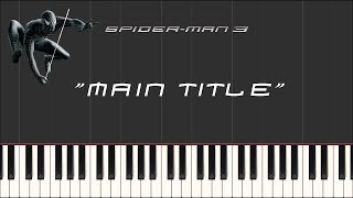 Download lagu Spider-Man 3 - Main Title (Synthesia Piano)