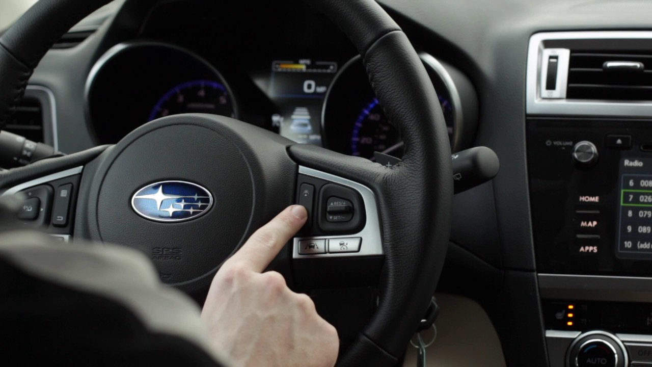 Subaru Eyesight Video >> How To Use Subaru Adaptive Cruise Control - YouTube