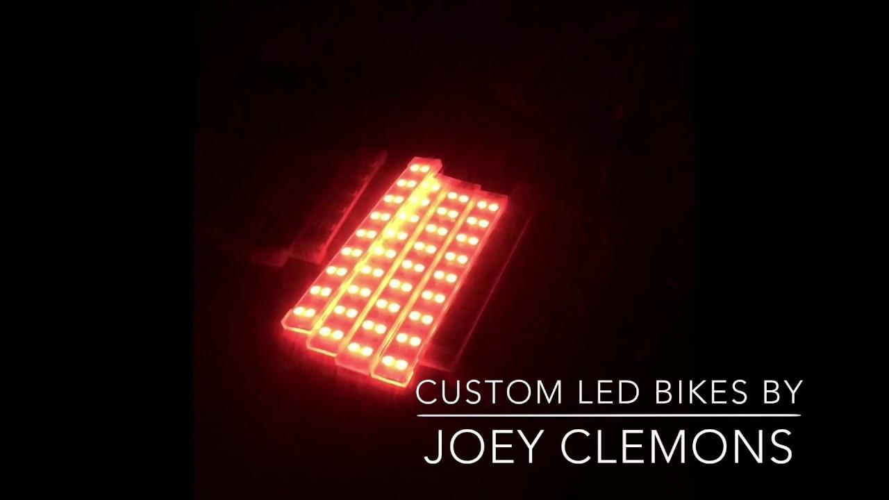 Custom led light strips for glow bikes youtube custom led light strips for glow bikes aloadofball Gallery