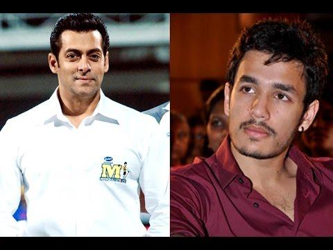 Salman Khan wishes good luck to Nagarjuna son Akhil