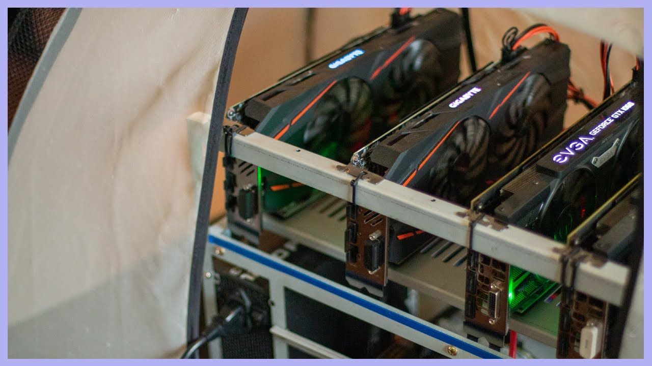 cryptocurrency mining tent
