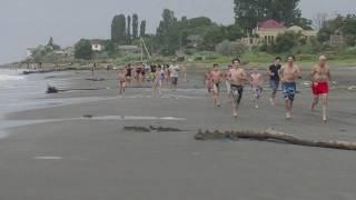 Дагестан!Отдых у моря с детьми!Поселок Приморский. фильм второй