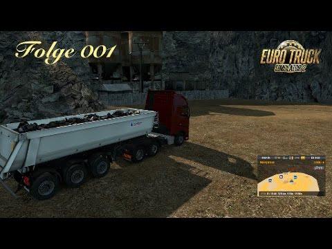 euro truck simulator 2 001 der erste auftrag steine von stuttgart nach kassel youtube. Black Bedroom Furniture Sets. Home Design Ideas