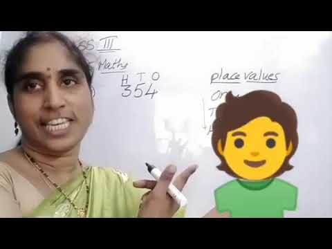 Global Intelli School class 3 Maths Numbers part-1