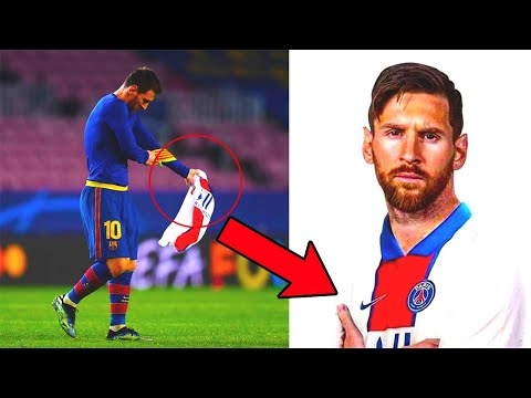 MESSI LEAVES BARCELONA AFTER THE GAME AGAINST PSG 1:4!? POST-MATCH REACTION | CHAMPIONS LEAGUE