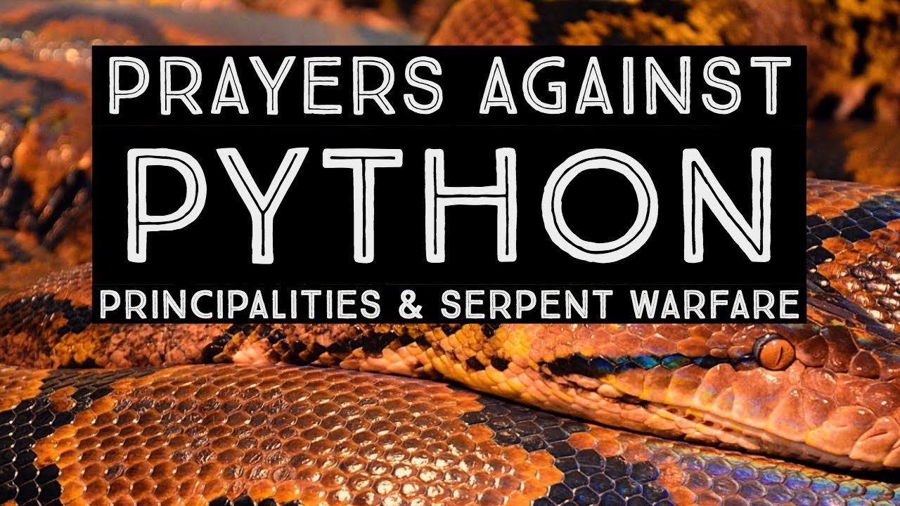 Prayers Against The Python Spirit   Exposing the Enemy